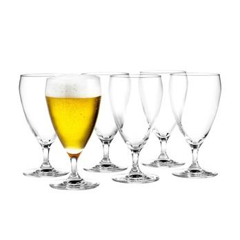 Holmegaard - Perfection Biergläser-Set 6tlg. - transparent/33cl