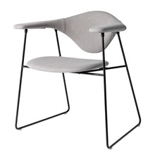 Gubi - Masculo Dining Chair Stoff