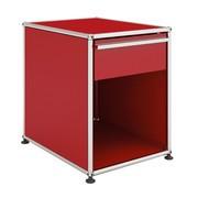 USM  Möbelbausysteme  - USM Nachttisch mit Schublade