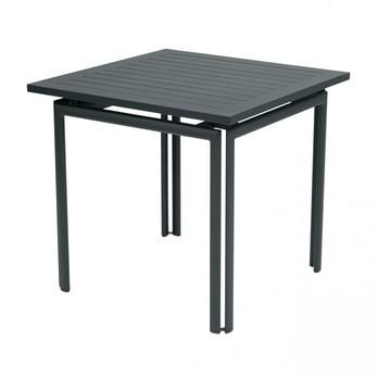 Fermob - Costa Gartentisch quadratisch - gewittergrau/LxBxH 80x80x73cm
