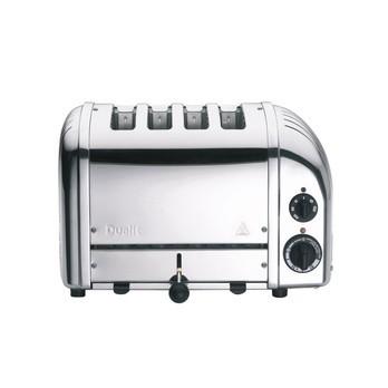 Dualit - Dualit Classic NewGen Vario 4 Toaster - silber/poliert/handgefertigt