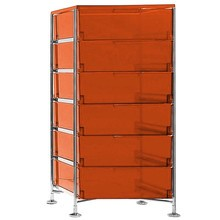 Kartell - Mobil 6 Container With Feet