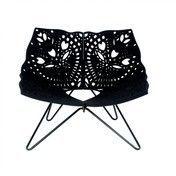 HAY - Prince Chair Sessel  - schwarz/Neopren mit Filz/100x80x80cm