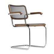 Thonet - Fauteuil cantilever S 64 N Pure Materials