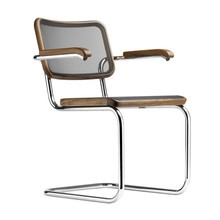 Thonet - S 64 N Pure Materials Cantilever Armchair Walnut