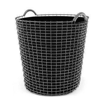 Korbo - Aktionsset Korbo Classic 65 +3 Plantingbags gratis - verzinkt/schwarz/H 42cm, Ø 48cm/Classic 65 Drahtkorb + 3x Plantingbags