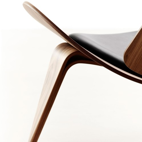 Carl Hansen - Carl Hansen CH07 Shell Chair Lounge Sessel
