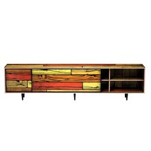 Established & Sons - Wrongwoods Sideboard niedrig 260cm