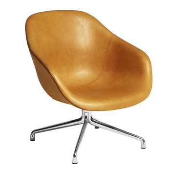 Hay Lounge Stoel.About A Lounge Chair Aal81 Leather Chair