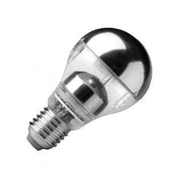 QualityLight - LED Classic Kopfspiegel 5 W - E27/828 - silber/2800K/ 280lm