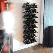 Radius - Wine Tree Weinregal - schwarz/Größe 3/HxB:170x61cm