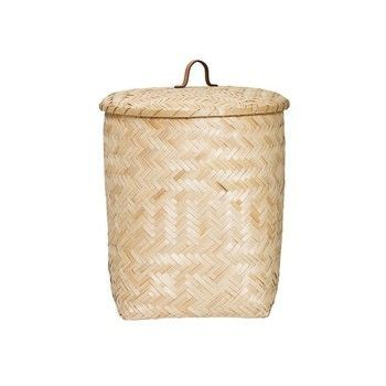 - Bamboo Aufbewahrungskorb -