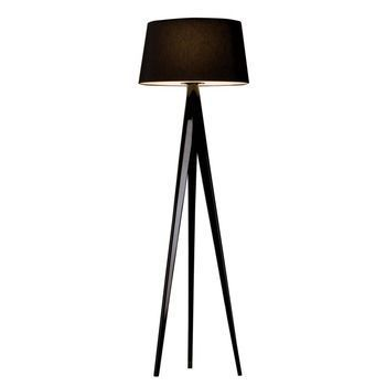 Metalarte - Triana Floor Lamp - black/tripod laquered black/H 205cm/Ø55cm