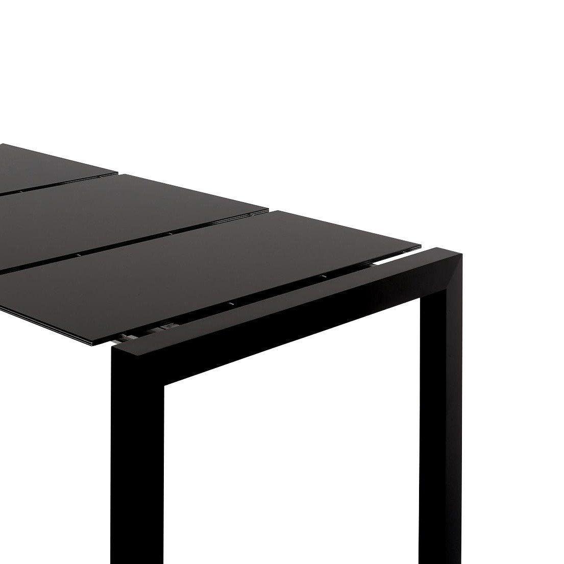 ... Kristalia   Sushi Tisch Ausziehbar   Schwarz/Gestell Schwarz/Laminat/2  Ausziehplatten Inkl ...
