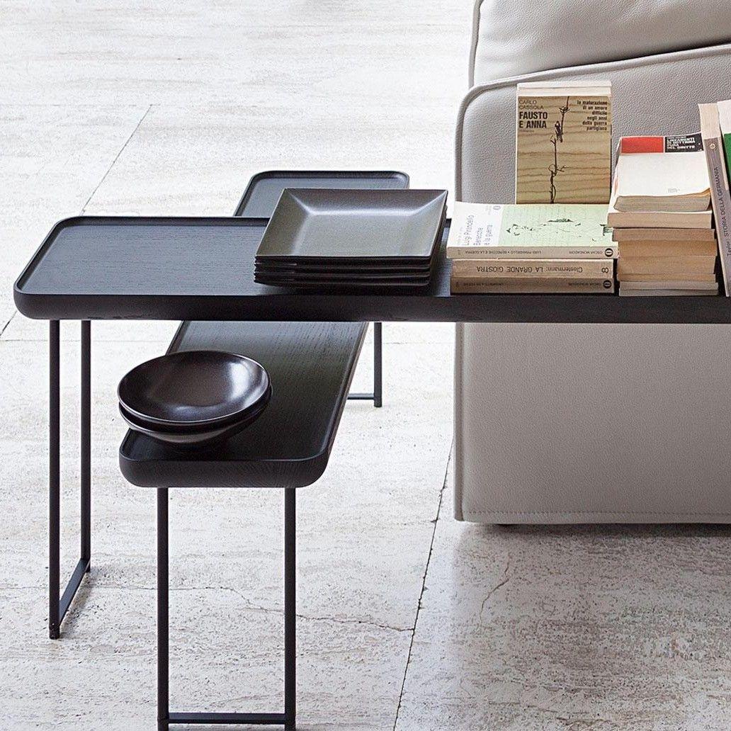 torei beistelltisch rechteckig cassina. Black Bedroom Furniture Sets. Home Design Ideas