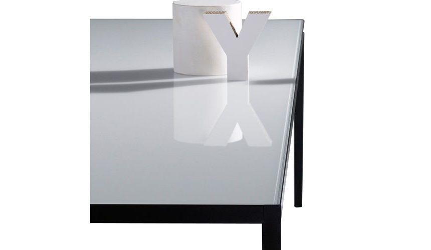 ... MDF Italia   Lim 3.0 Glass Table 240x100cm   White/glossy/frame  Graphite Grey ...