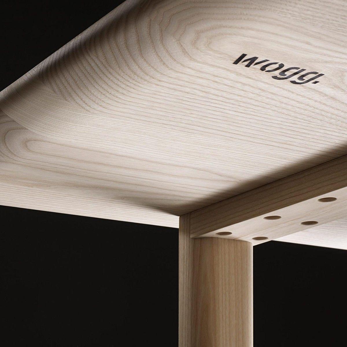 Tira massivholztisch esstisch wogg for Design massivholztisch