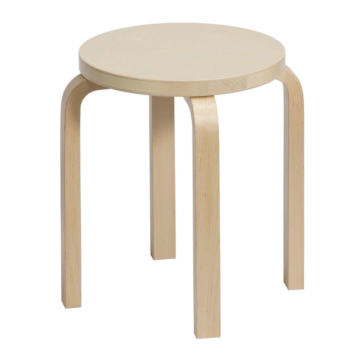 artek e stool  artek  ambientedirectcom - artek  artek e stool  birch veneerlegs birch transparent lacqu