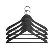 HAY - Soft Coat Kleiderbügel mit Stange Set 4-teilig