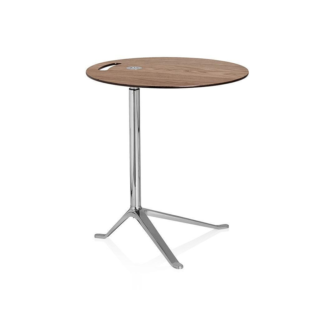 Little friend table d 39 appoint pi tement poli fritz Table d appoint reglable en hauteur