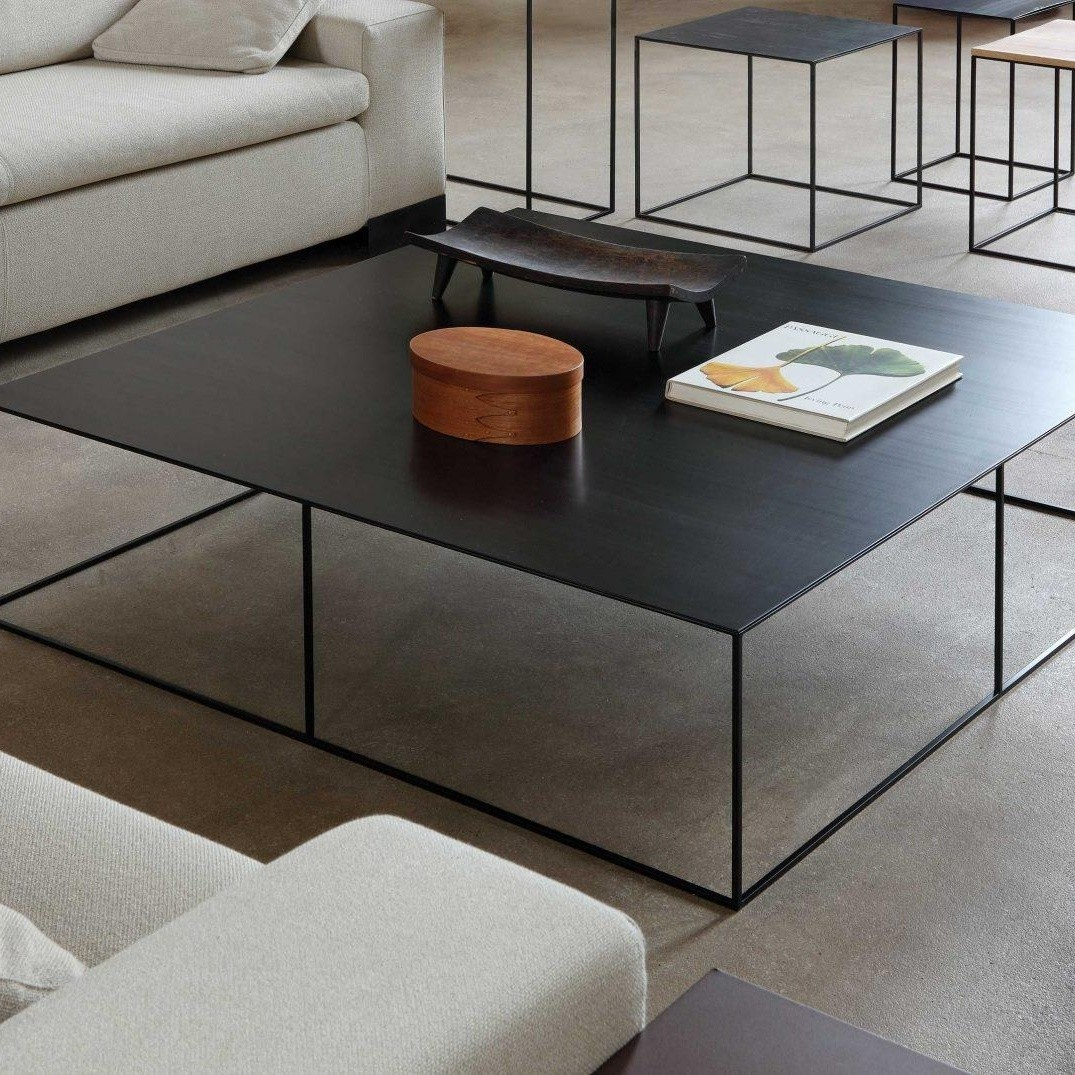 Superior ... Zeus   Slim Irony Coffee Table 124x124cm ...