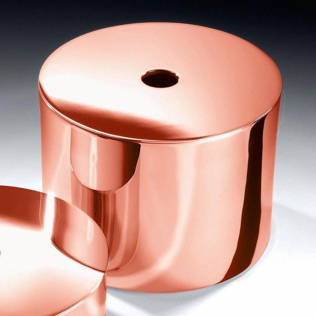 Pipe 3 led suspension lamp decor walther ambientedirect com - Decor Walther Dw 412 Box Copper 15cm H 11 Cm