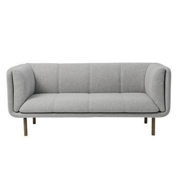 Bloomingville - Stay Sofa  - hellgrau/100% Wolle/83x192x80cm/Sitzhöhe:46 cm