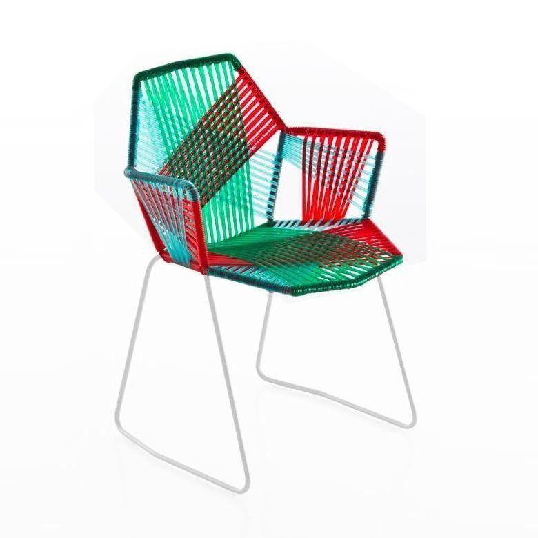 Tropicalia Chaise avec accoudoirs Moroso