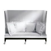 Driade - Neoz 3-Sitzer Sofa mit hoher Rückenlehne