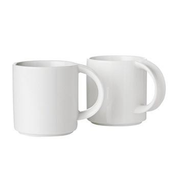 Stelton - EM Kaffeetassen-Set 2tlg. - weiß/2 Stück