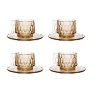 Kartell - Jellies Family Tasse mit Untertasse Set