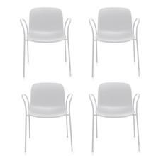Magis - Magis Troy - Set de 4 fauteuils de jardin