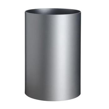 Kartell - Kartell Papierkorb - silber/Kunststoff