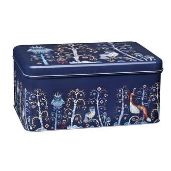iittala - Taika Dose eckig - blau/LxBxH 28x13x17,8cm