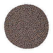 myfelt - Néla Felt Rug Ø120cm - brown/grey/pure new wool