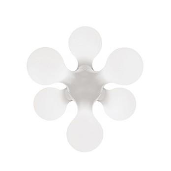 Kundalini - Atomium Boden-/Tischleuchte - weiß RAL 9003/Polyethylen/LxBxH 62x58x52cm