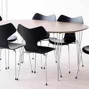 Fritz Hansen - B619 - Super-elliptique table extensible
