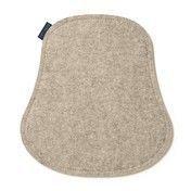 Hey-Sign - Masters Sitzauflage Schaumstofffüllung - braunmeliert/Filz/Rückseite anthrazit antirutsch/Materialstärke 3mm