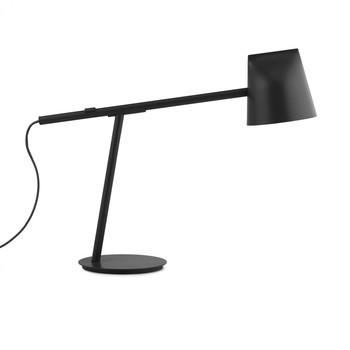 Normann Copenhagen - Mormento LED Schreibtischleuchte - schwarz/H x B x T: 44 x 51 x 16.5cm