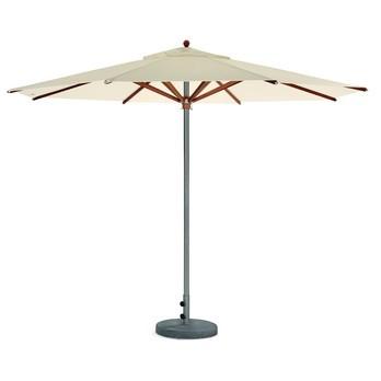 Weishäupl - Trend Sonnenschirm rund  - sand/Dolan ®/Ø 300cm/Bodenplatte Beton