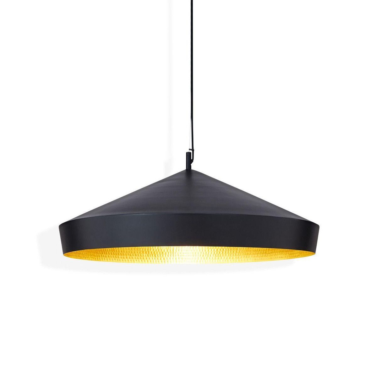 Beat flat suspension lamp tom dixon for Suspension 4 lampes