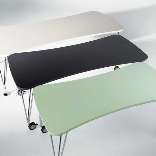 Kartell - Max Tisch mit Rollen 160x80cm