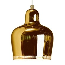 Artek - A330S Golden Bell Suspension Lamp Brass