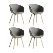 HAY - About a Chair 23 Armchair Upholstered Set of 4