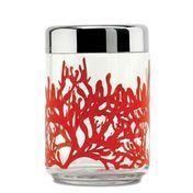 Alessi - Mediterraneo Küchendose - transparent/Glas/Größe 4/HxØ 22x11cm
