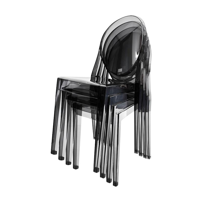 Kartell Victoria Ghost Stuhl 4er Set | AmbienteDirect