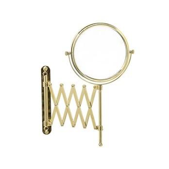 Bloomingville - Glamour Wandkosmetikspiegel - gold/Ø15xL50xH31,5 cm