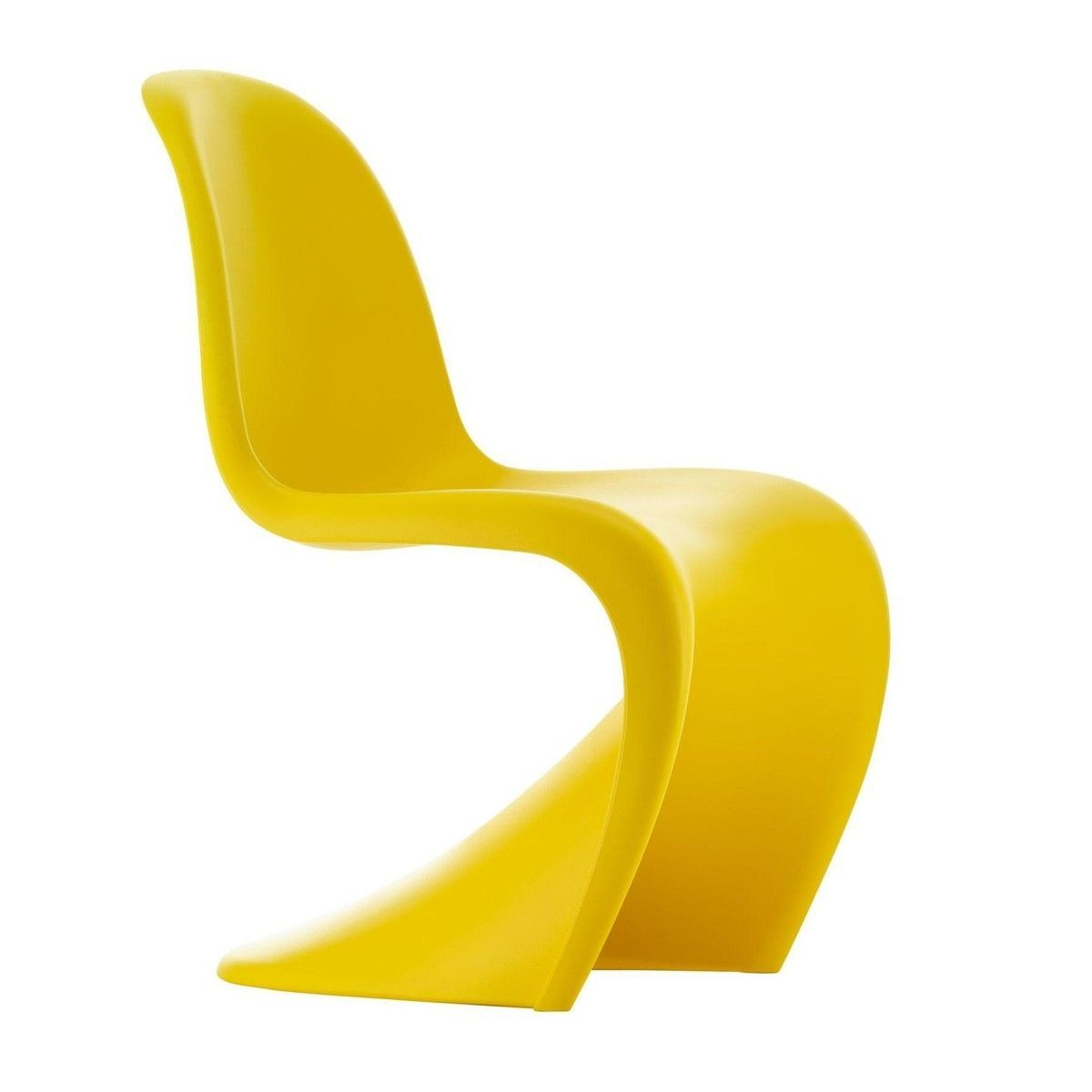 panton chair  limited edition   vitra  ambientedirectcom - vitra  panton chair  limited edition   sunlight yellowspecialcolour