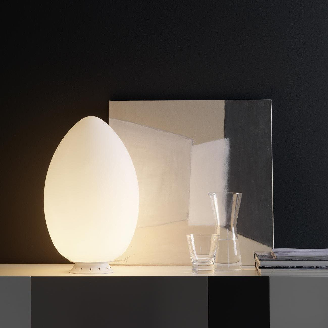 Fontana Arte Uovo 2646 Table Lamp | AmbienteDirect
