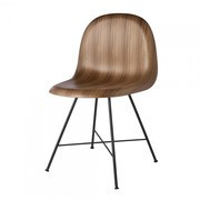 Gubi - Gubi 3D Dining Chair - Chaise
